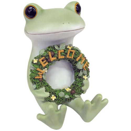 Copeau Display | 71760 | Frog with Welcome Flower Ring (1661586341922)
