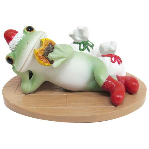Copeau Display | 71998 | Frog Enjoying Xmas with Gifts (1628055535650)