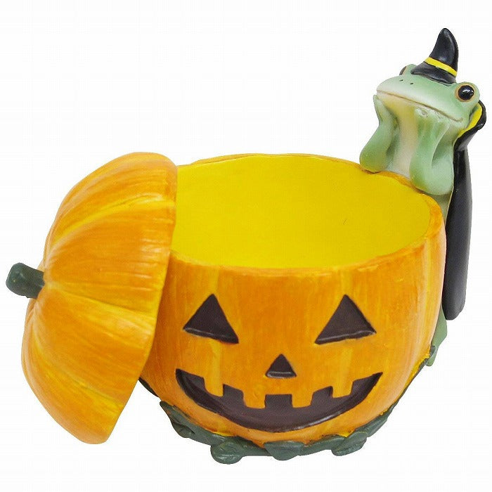Copeau Display | 72026 | Frog with Pumpkin