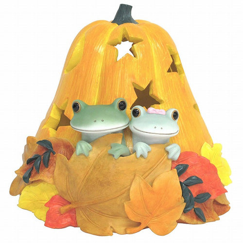 Copeau Display | 72030 | Frog Couple in Pumpkin (1510144180258)