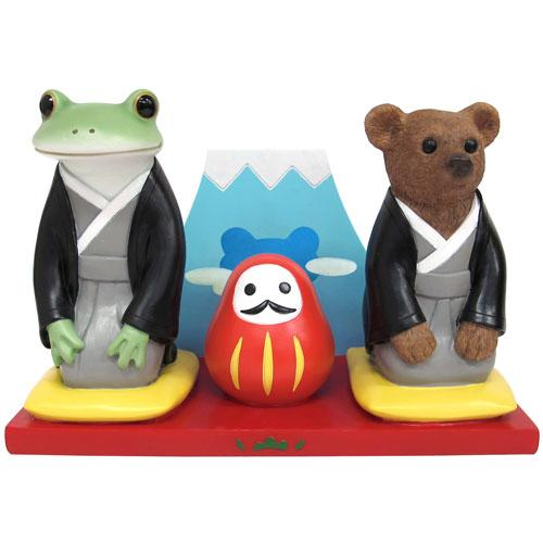 Copeau Display | 72041 | Frog and Bear Japan New Year (1510143459362)