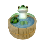 Copeau Display | 72232 | Frog Bathing with Watermelon (3744451919906)