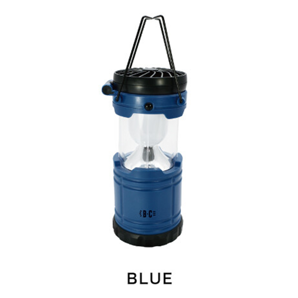 Gendai Hyakka | LED Lantern Fan | Blue | 正價