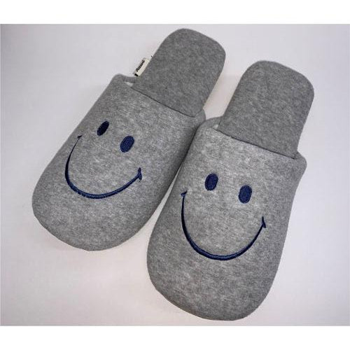Smiley | Slippers | Grey (1716579532834)