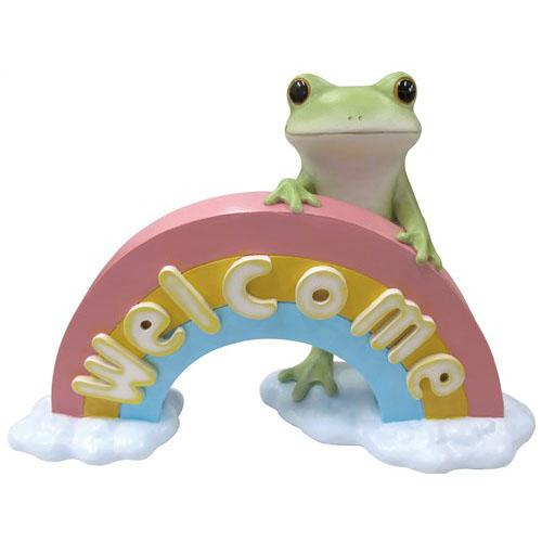 Copeau Display | 71453 | Frog Welcome with Rainbow (3766996434978)