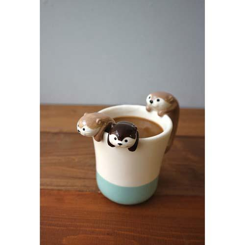 3D Tea Spoon | Raccoon Dark Brown