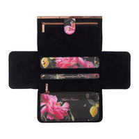 Jewellery Roll | Black Citrus Bloom