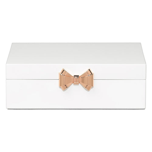 Lacquer Jewellery Box Medium | White (562115510306)