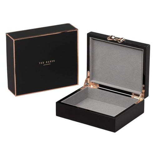 Lacquer Jewellery Box Medium | Black (562142838818)