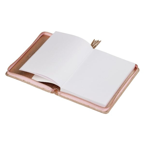 A5 Tassel Folio | Rose Gold (1613150715938)