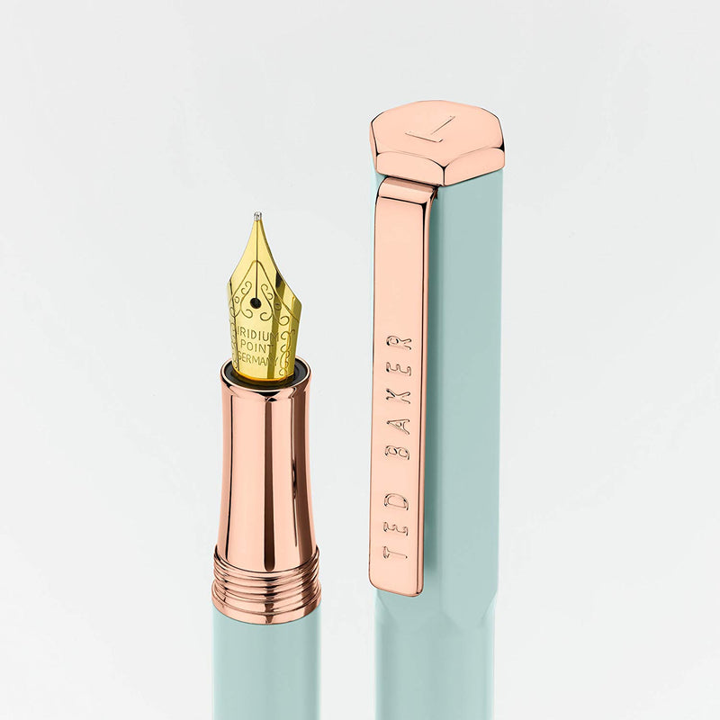 Premium Fountain Pen | Aquamarine