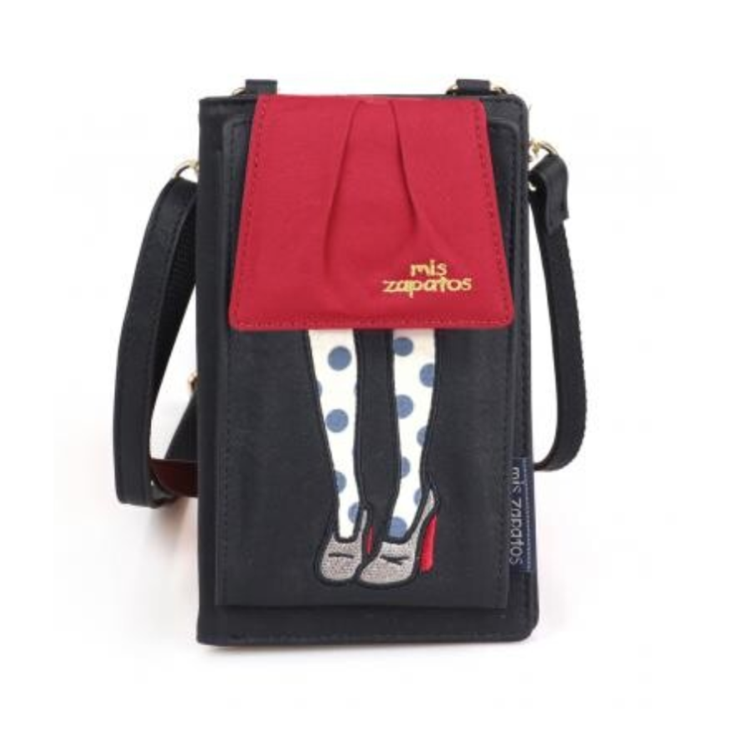 Mis Zapatos | Travel Smartphone Pouch | Balloon Skirt | Black | 正價