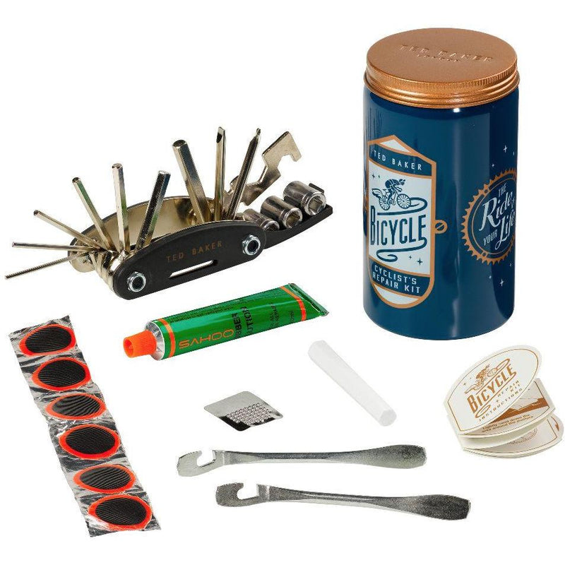 Bike Repair Kit in Tin | Blue (197175705611)