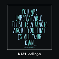 D161 - You are unrepeatable