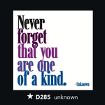D285 - One of a Kind (197163057163)