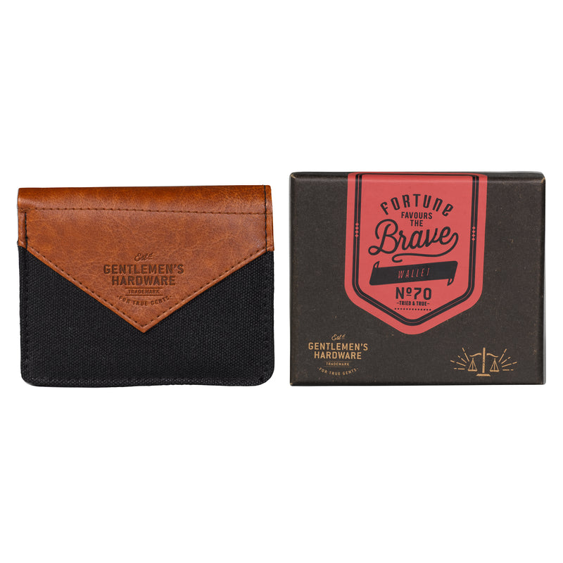 Canvas Wallet - Charcoal (197184716811)