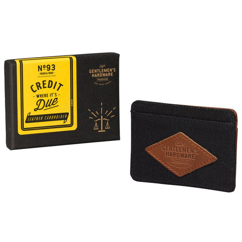 Leather Card Holder Charcoal (197183864843)