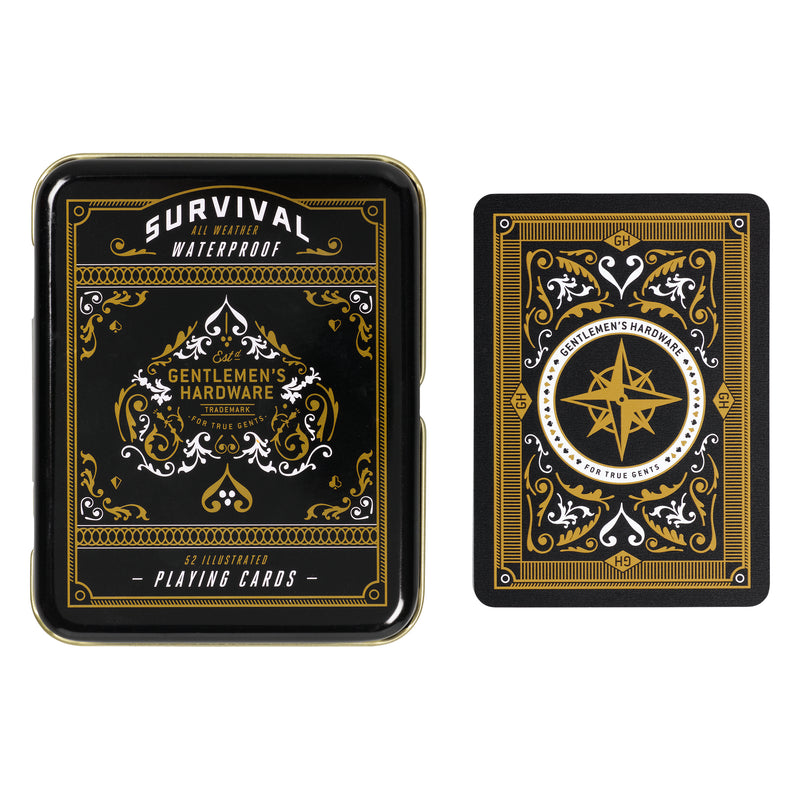 Survival Playing Cards in Tin (197183242251)