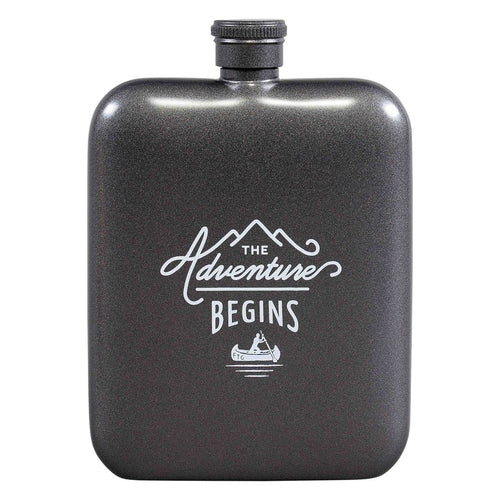 Hip Flask | The Adventure Begins (1789454942242)