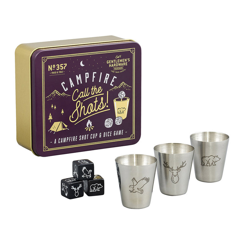 Campfire Call the Shots - shot cup and dice game (4419998744650)