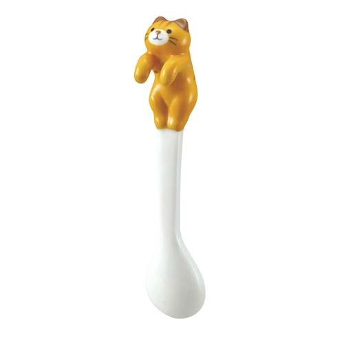 3D Tea Spoon | Golden Cat