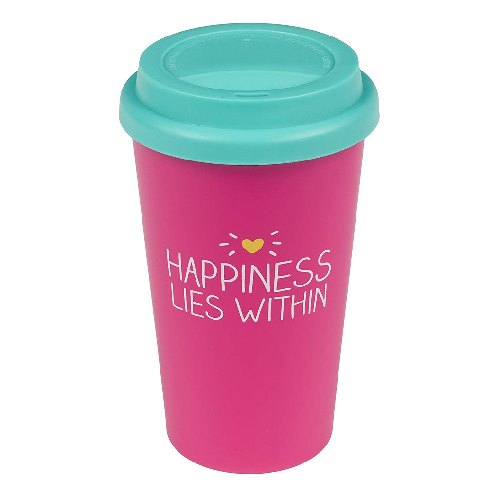 Travel Mug Happiness