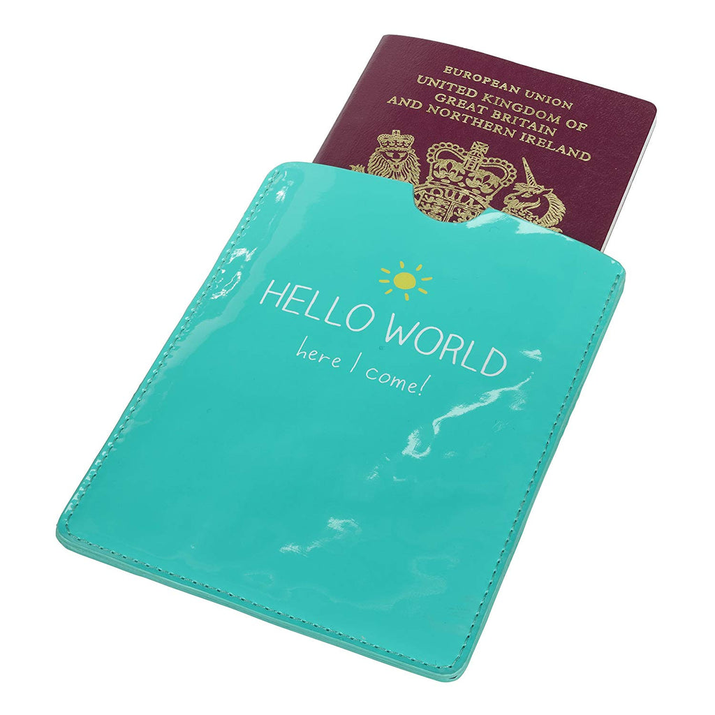 Passport Cover | Hello World