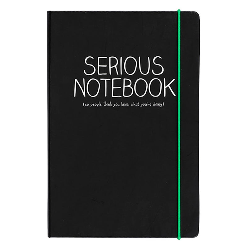 A5 Serious Notebook | Black (325820153867)