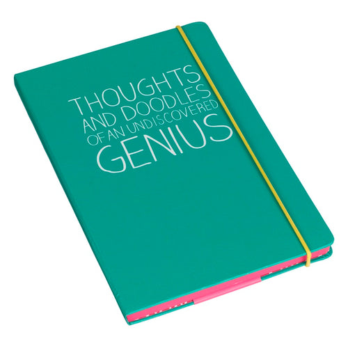 A5 Thoughts And Doodles Notebook | Green (325821726731)