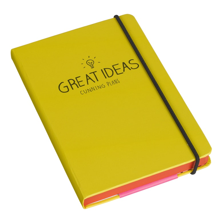 A5 Great Ideas Notebook | Yellow (325824184331)