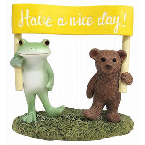 Copeau Display | 72260 | Frog and Bear Have a Nice Day