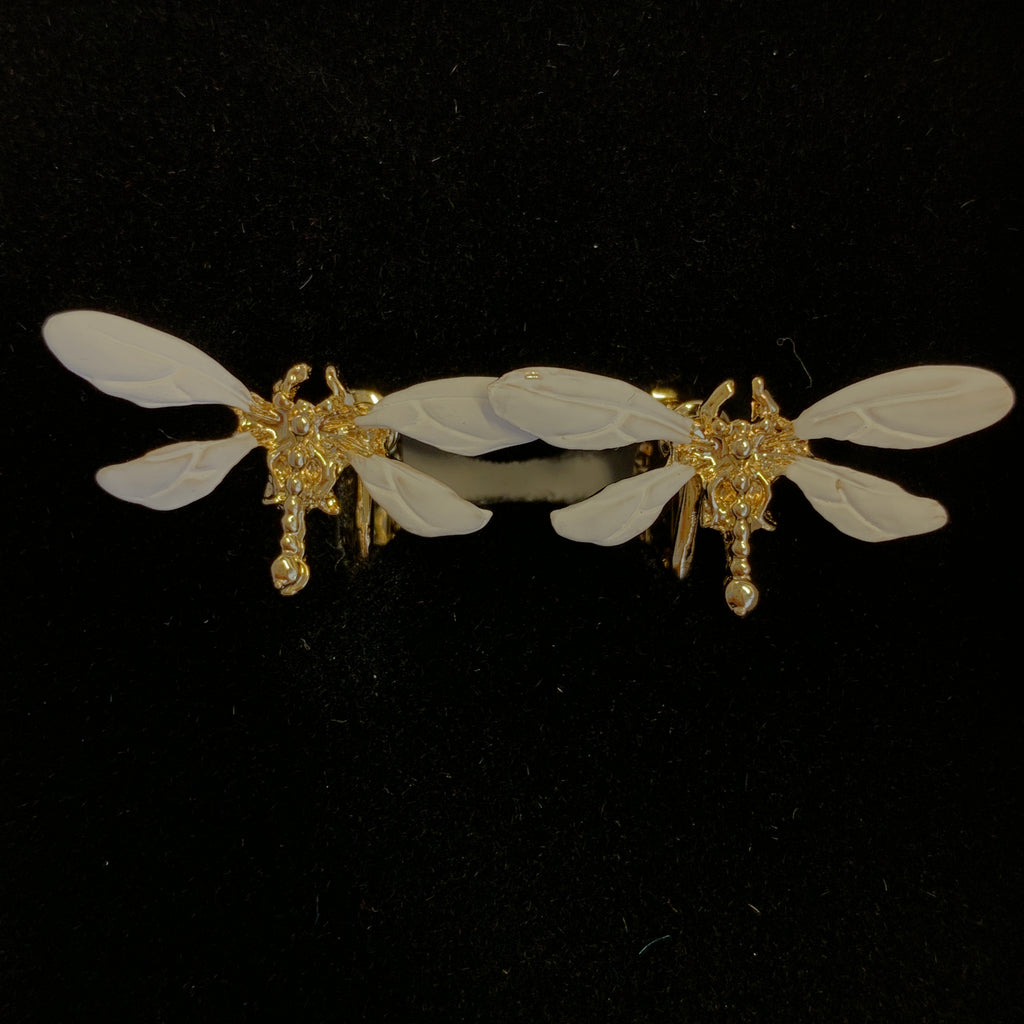 Dragonfly Clip-on Earrings