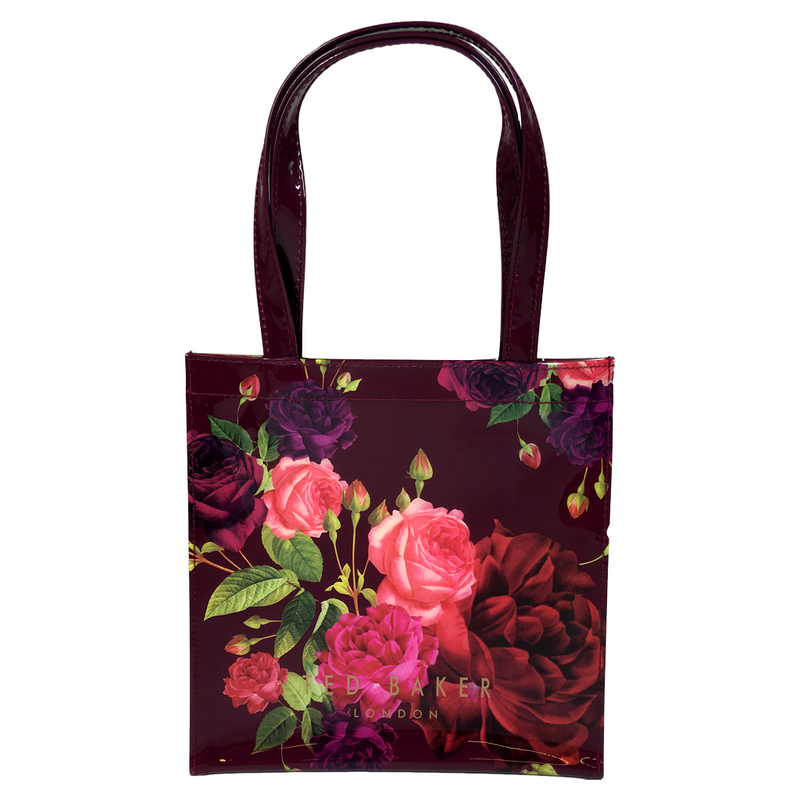 Juxtapose Rose Small Icon Bag | Grape