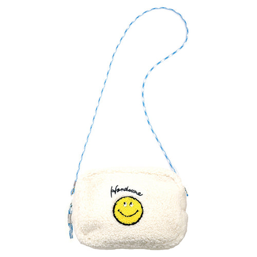 Smiley | Shoulder Pouch | Ivory (1794339733538)