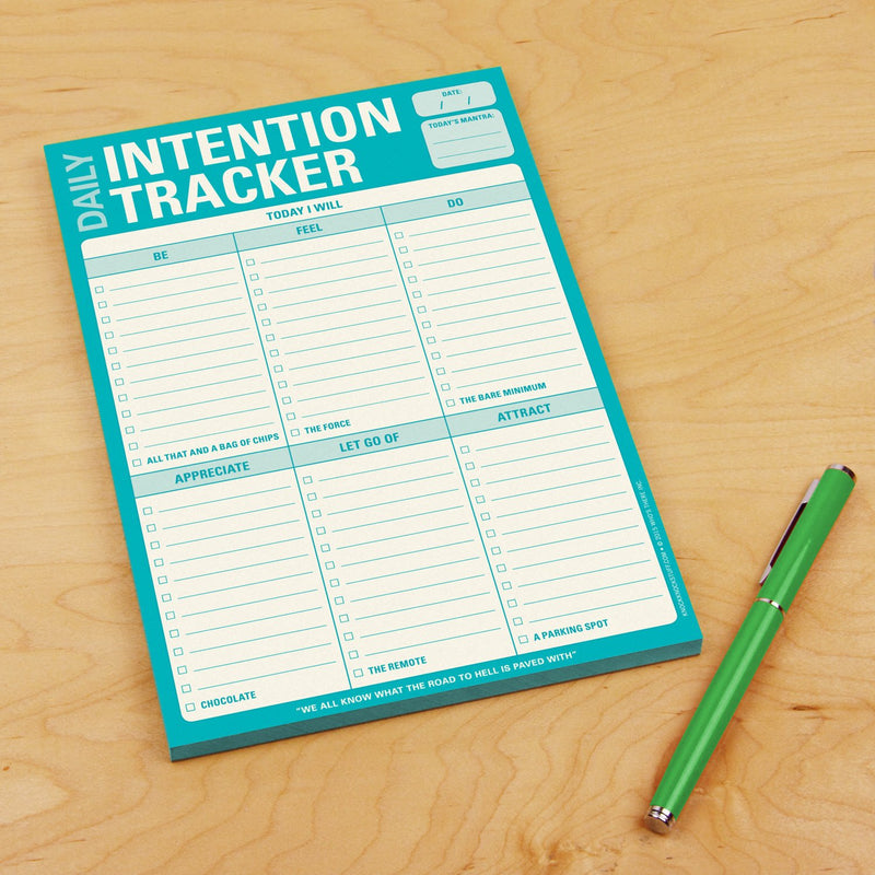 Daily Intention Tracker Pad (197169512459)