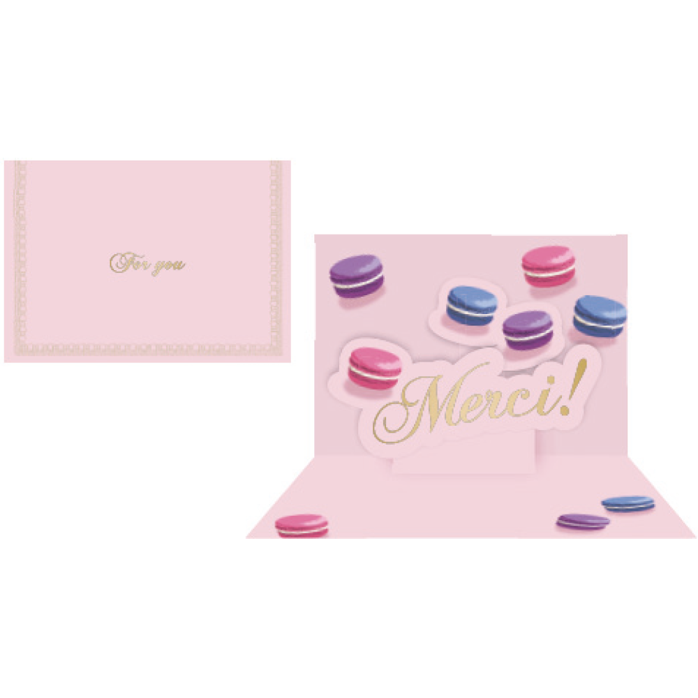 Message Card | Macaron Rose