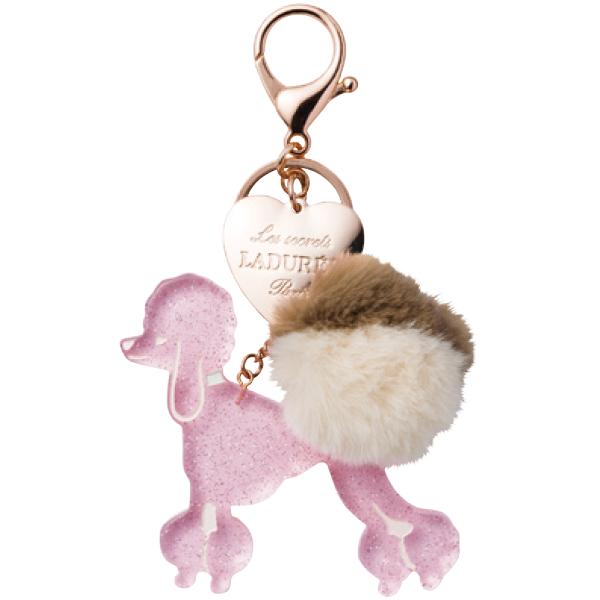 Poodle Key Holder | Rose