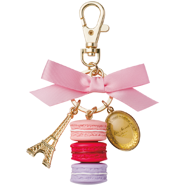 Macarons Key Holder | Rose