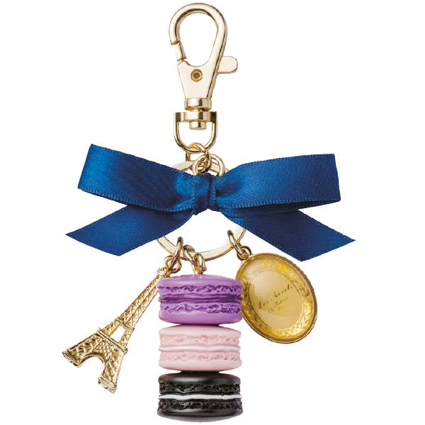 Macarons Key Holder | Cassis Violette