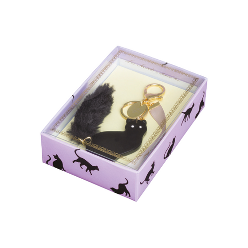 Lovely Cat Bag Charm | Noir (3814554894370)