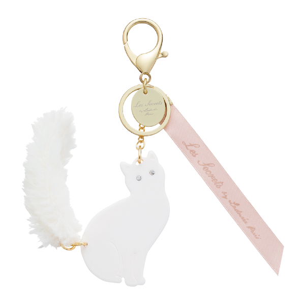 Lovely Cat Bag Charm | Blanch