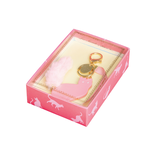 Lovely Cat Bag Charm | Rose (3814555484194)
