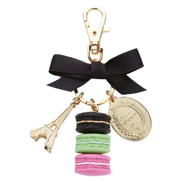 Macarons Key Holder | Reglisse