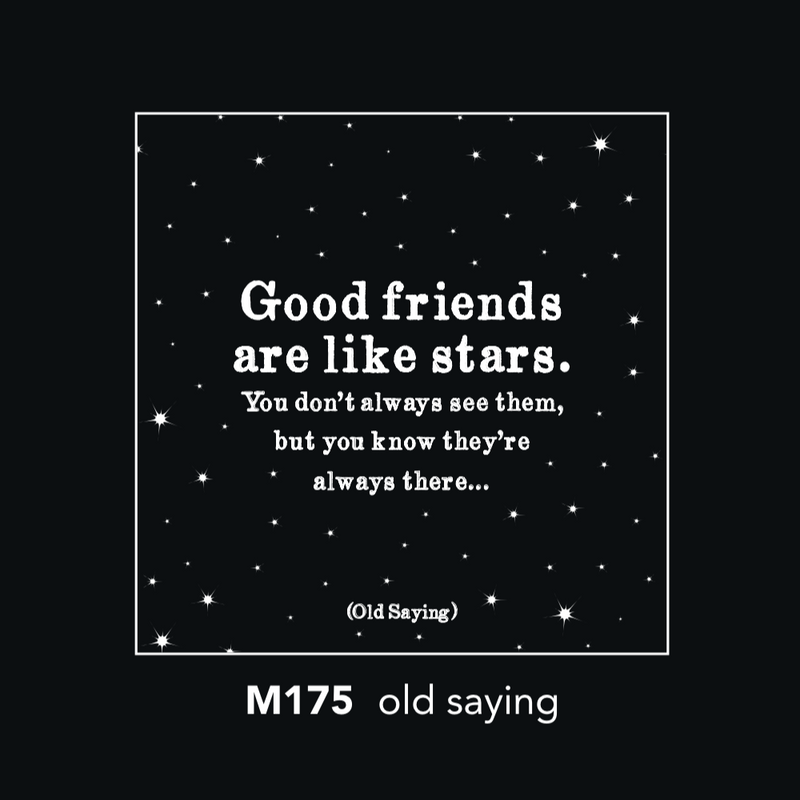 M175 Magnet - good friends are like stars