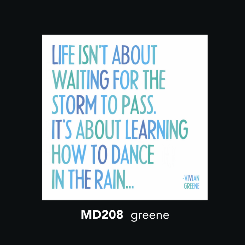 MD208 Magnet - life isn't about