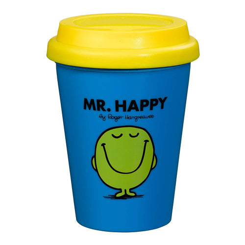 Mr Happy Travel Mug (197181997067)