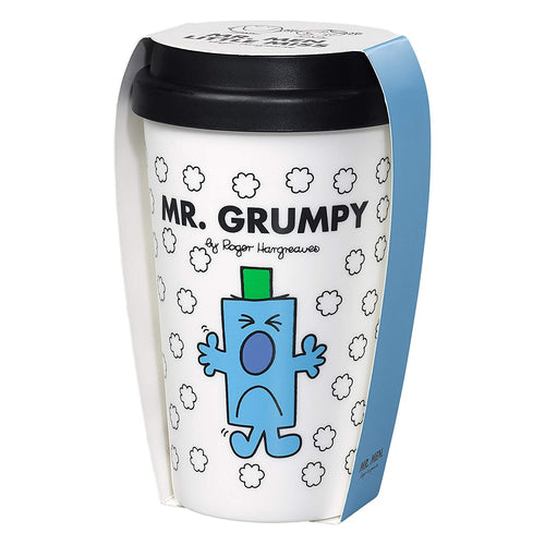 Mr Grumpy Travel Mug | White (1722801356834)