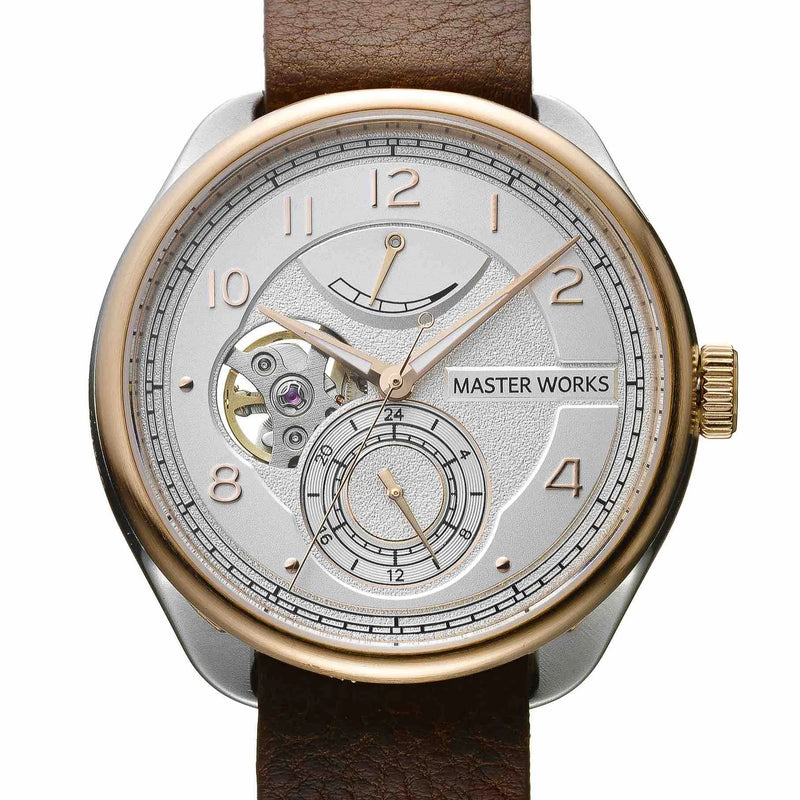 Master Works | Gents Watch | MW08SRS-FDBRO8 (4419936944202)