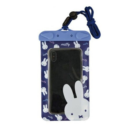 Miffy | Waterproof Smartphone Pouch | Navy | 正價