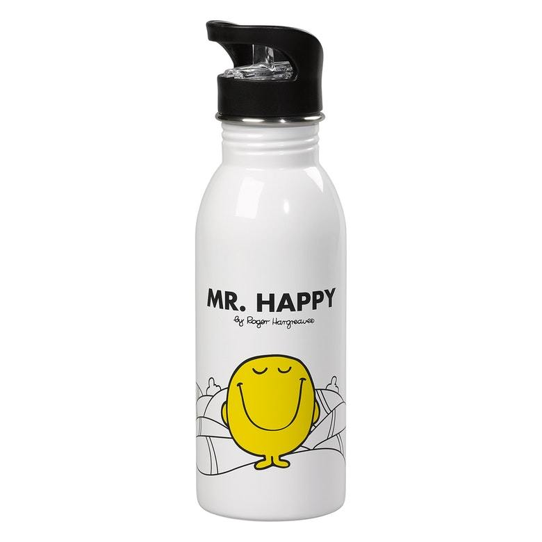Mr Happy Water Bottles (1491426115618)